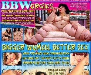 BBW Orgies - Bigger women, Better Sex