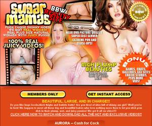 Sugar Mamas - BEAUTIFUL, LARGE, AND IN CHARGE!