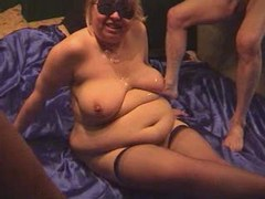 BBW gets cum on tits after fucking bbw mpegs