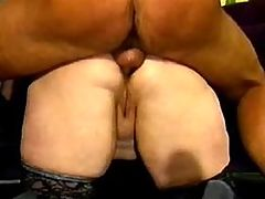 Depraved angel with big boobs fucks bbw mpegs